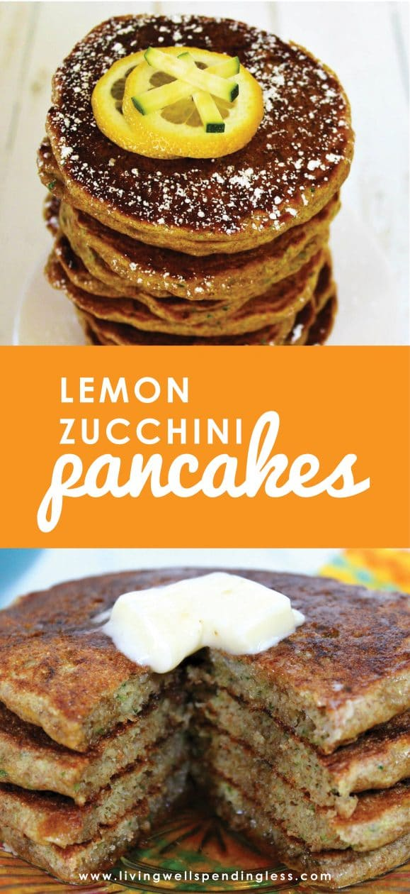 Need a tasty way to slip in more vegetables, or maybe just a great recipe for all those zucchini in your garden? Jam packed with fresh summer flavor, these delicious (and healthy!) Lemon Zucchini Pancakes are sure to please even the pickiest of eaters. Breakfast might never be the same!