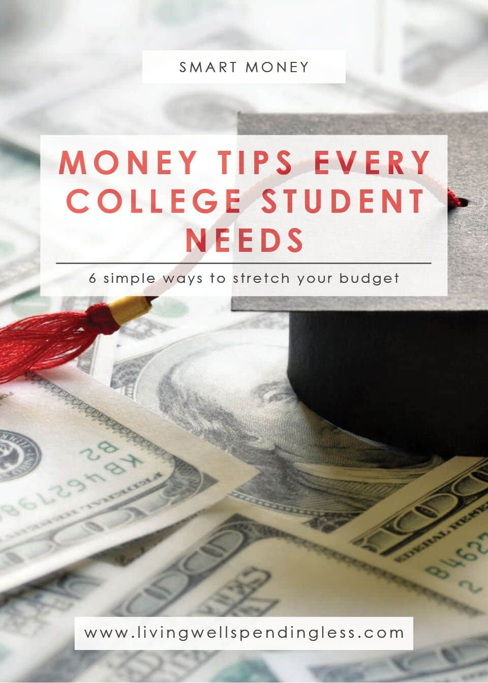 Money Tips Every College Student Needs | Budgeting | Money Saving Tips | Smart Money | Paying for College