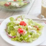 Easy Greek Salad   Food Made Simple   Meatless Meal   Side Dishes
