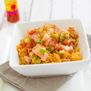 Easy Chicken Jambalaya | 10 Meals in an Hour | Freezer Cooking | Main Course Meat | Meal Planning | Chicken Recipe