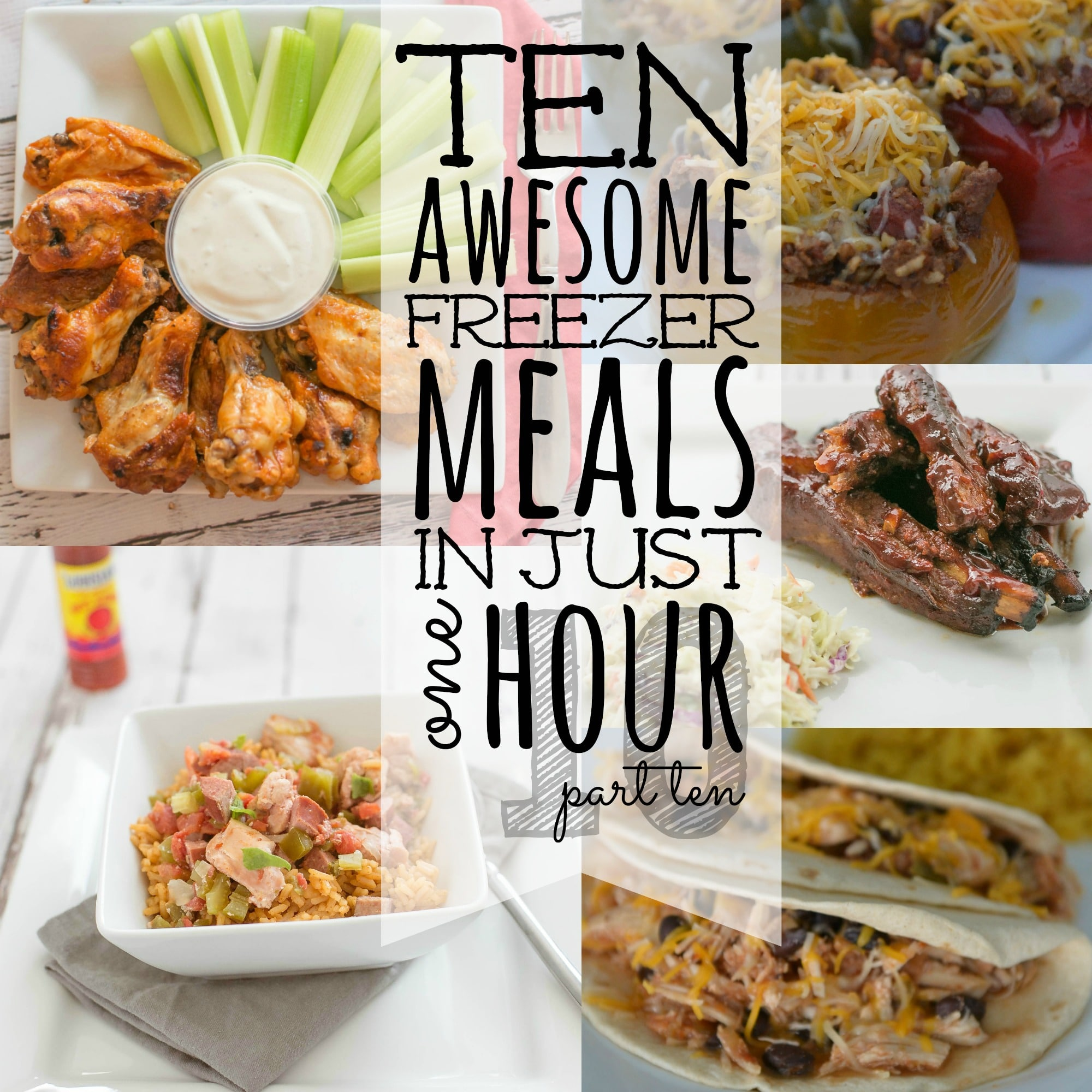 10 Meals in an Hour 10 Square Final