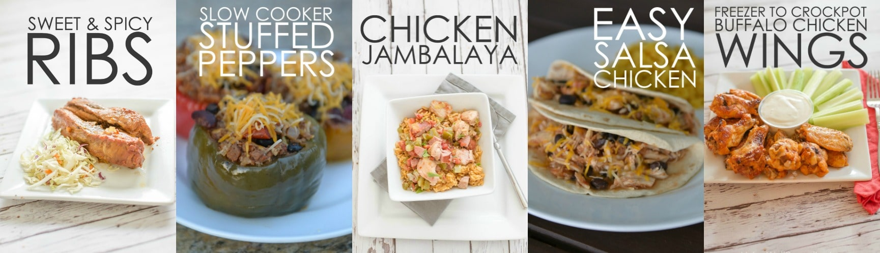 10 Meals in an Hour | Freezer Cooking | Freezer Meals | Meal Planning | Sweet & Spicy Ribs | Slow Cooker Stuffed Peppers | Chicken Jambalaya | Easy Salsa Chicken | Freezer to Crockpot Buffalo Chicken Wings