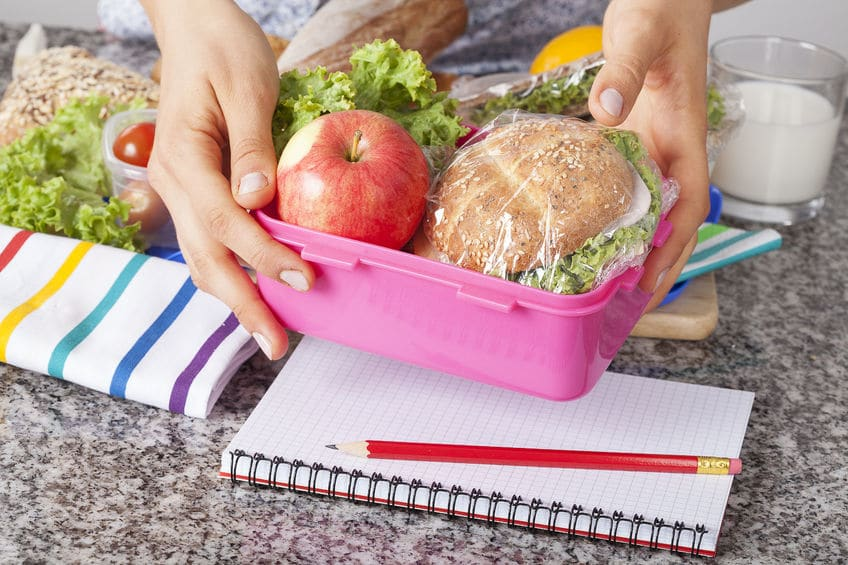 Simplify your school day routine by prepping lunches, backpacks, and any other school day needs the night before