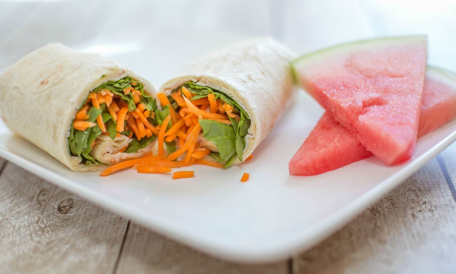 These make-ahead wraps are delicious for lunches all week long. Pair with a piece of fruit and enjoy!