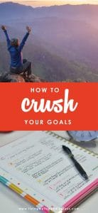 Let's face it—anybody can SET a goal, but actually ACHIEVING those goals can sometimes be a different story. Here's how to CRUSH your goals, every single time.