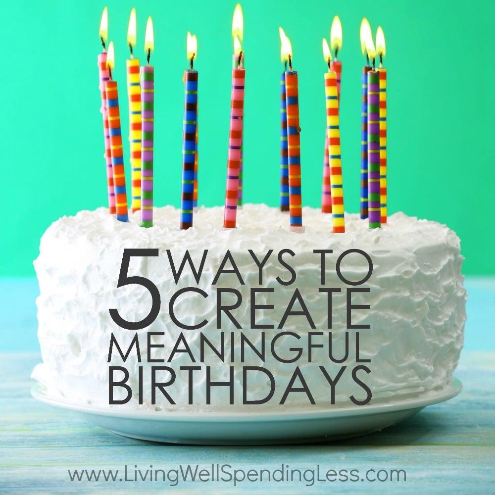 Meaningful Birthdays Square
