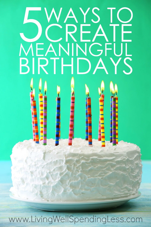 Meaningful Birthdays Vertical