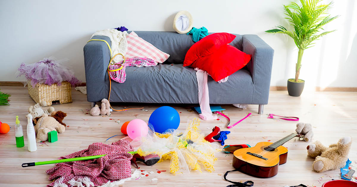Clearing the Clutter – 6 Simple Steps to Get You Started