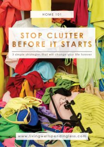 Stop Clutter | Become Clutter Free | Clean and Organize | Declutter