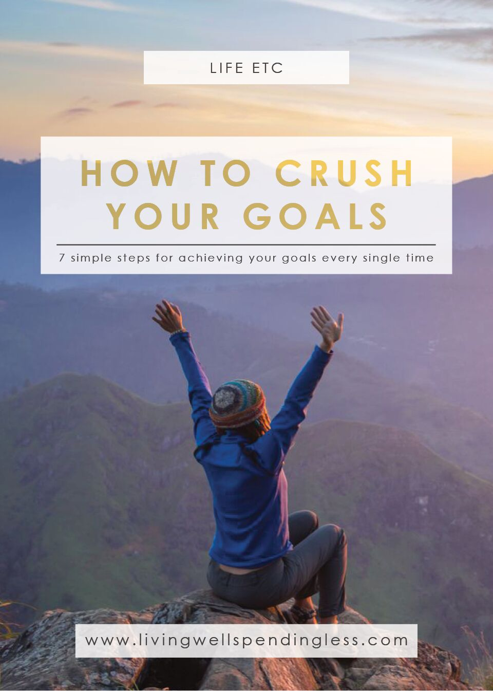 How to CRUSH Your Goals | Goal Setting | Resolutions | Successful Goal Setting