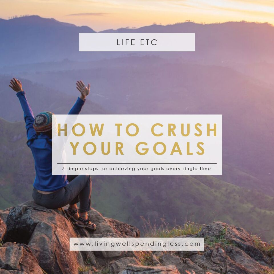 How to CRUSH Your Goals | Crushing It! | Time Management | Goal Setting | Managing Priorities