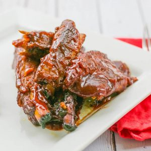 Sweet & Spicy Ribs   Easy Freezer-to-Crockpot Recipe   Barbecue Ribs   Meat Recipes