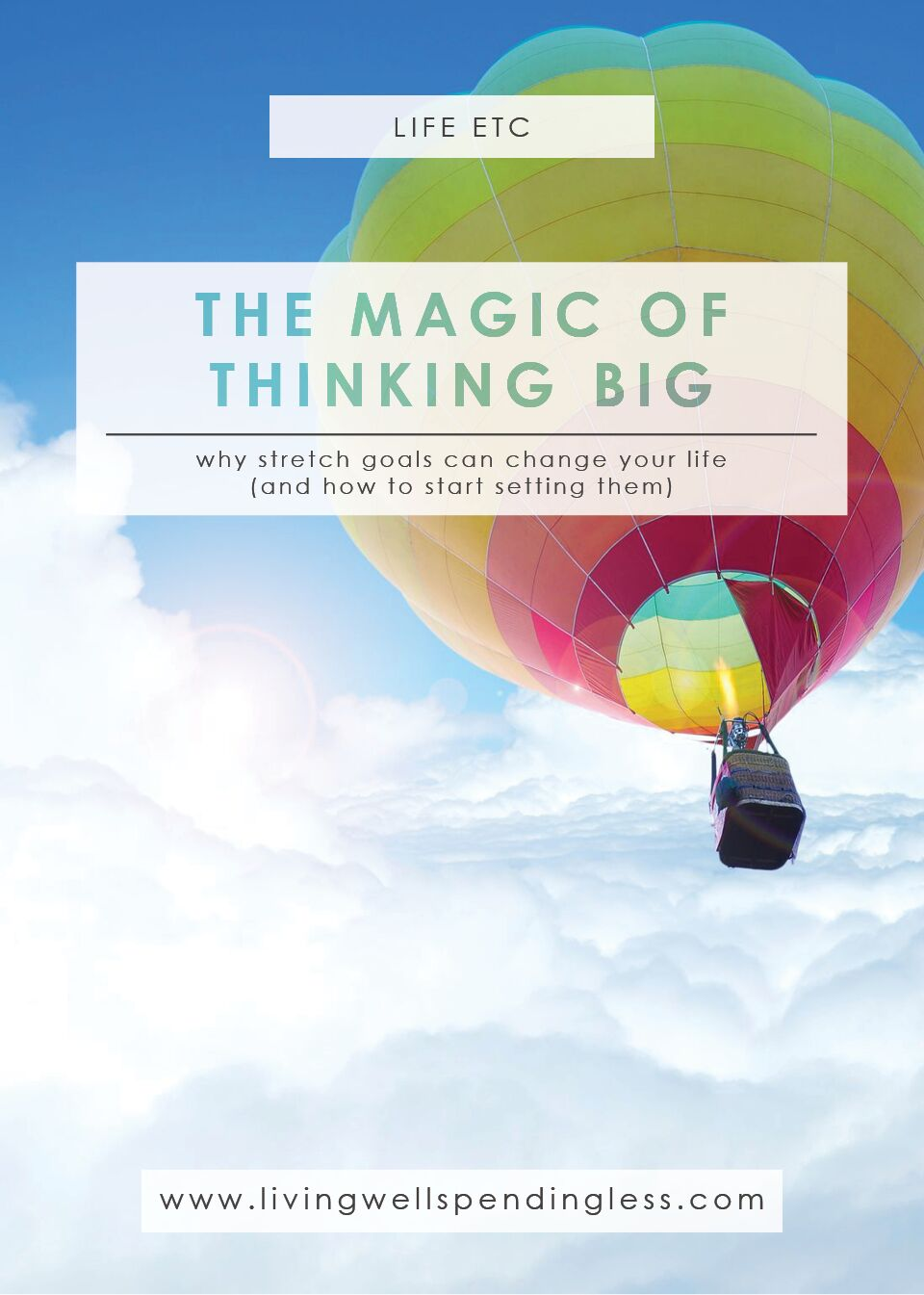 The Magic of Thinking Big | How to Set Better Goals | Personal Goal Setting