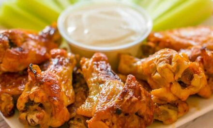 Freezer-to-Crockpot Buffalo Chicken Wings