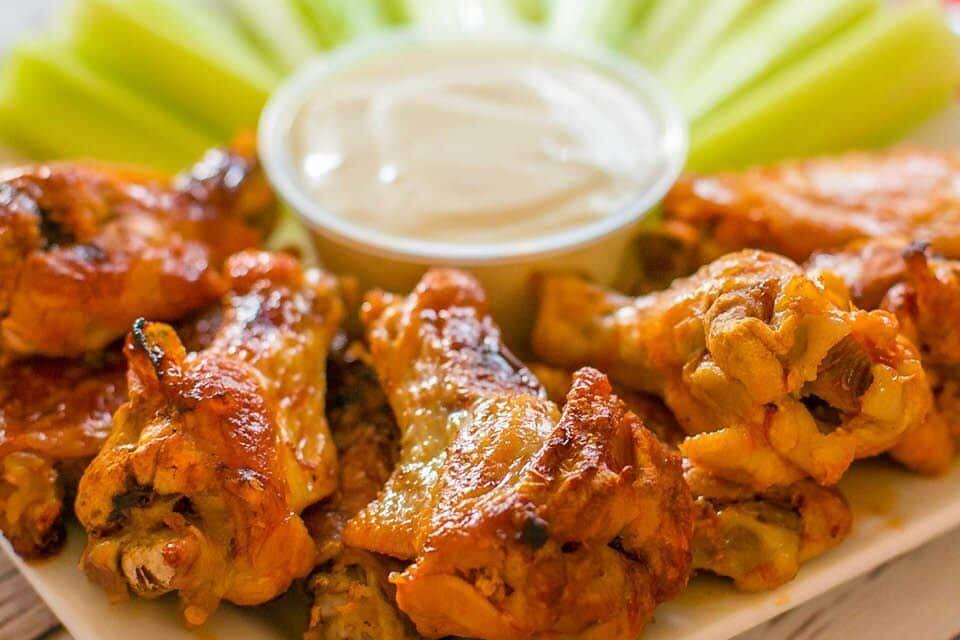 Freezer-to-Crockpot Buffalo Chicken Wings