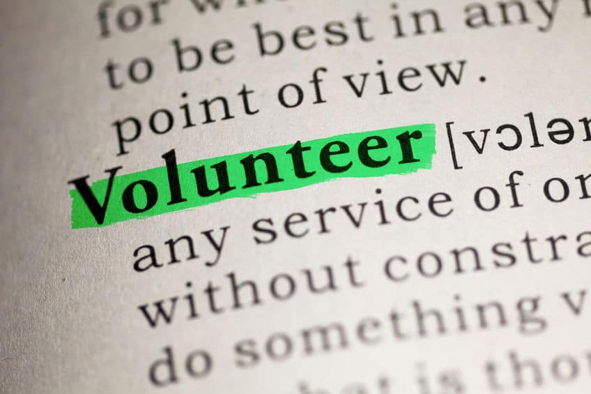 Volunteering is important but it's also important to take time for yourself and say no.
