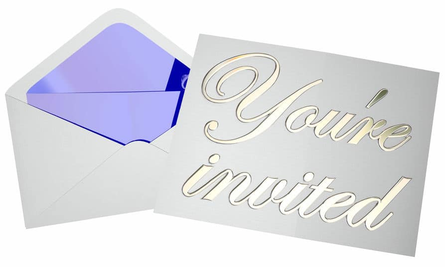 When you have a hard time saying no, party invitations can be a hassle.