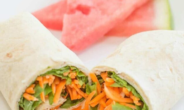 Easy Make Ahead Lunch Wraps