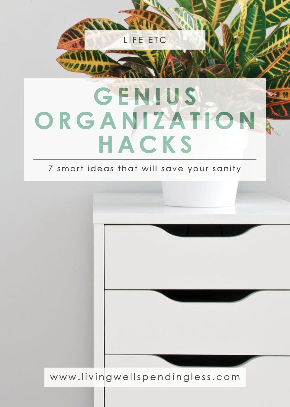 Organizing Hacks | Time Management | Organizing Ideas | Life Management | Clutter Free | Get Organized