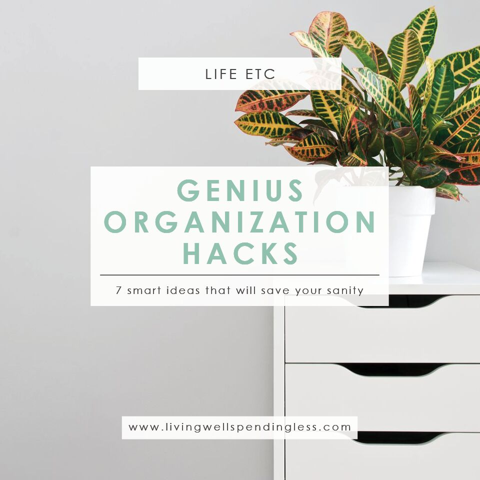 Organizing Hacks | Time Management | Organizing Ideas | Life Management | Clutter Free | Get Organized
