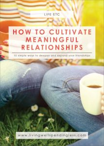 How to Cultivate Meaningful Relationships   Create Closer Friendships   Building Meaningful Relationships   Peaceful Mind