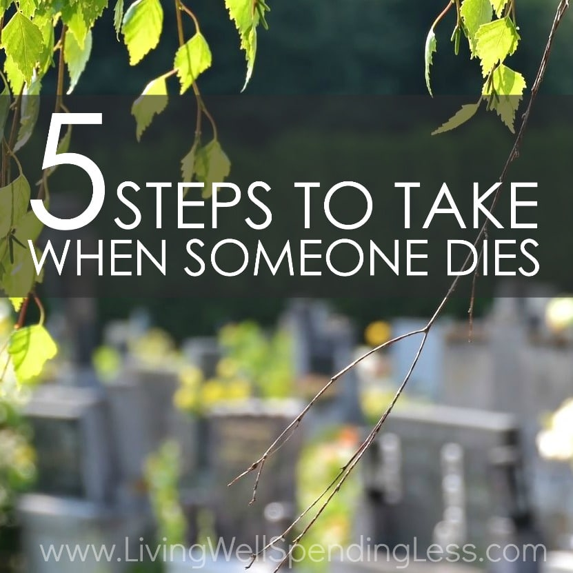 5 Steps to Take When Someone Dies | Dealing with Grief | Overcoming Depression | Moving on | Letting Go