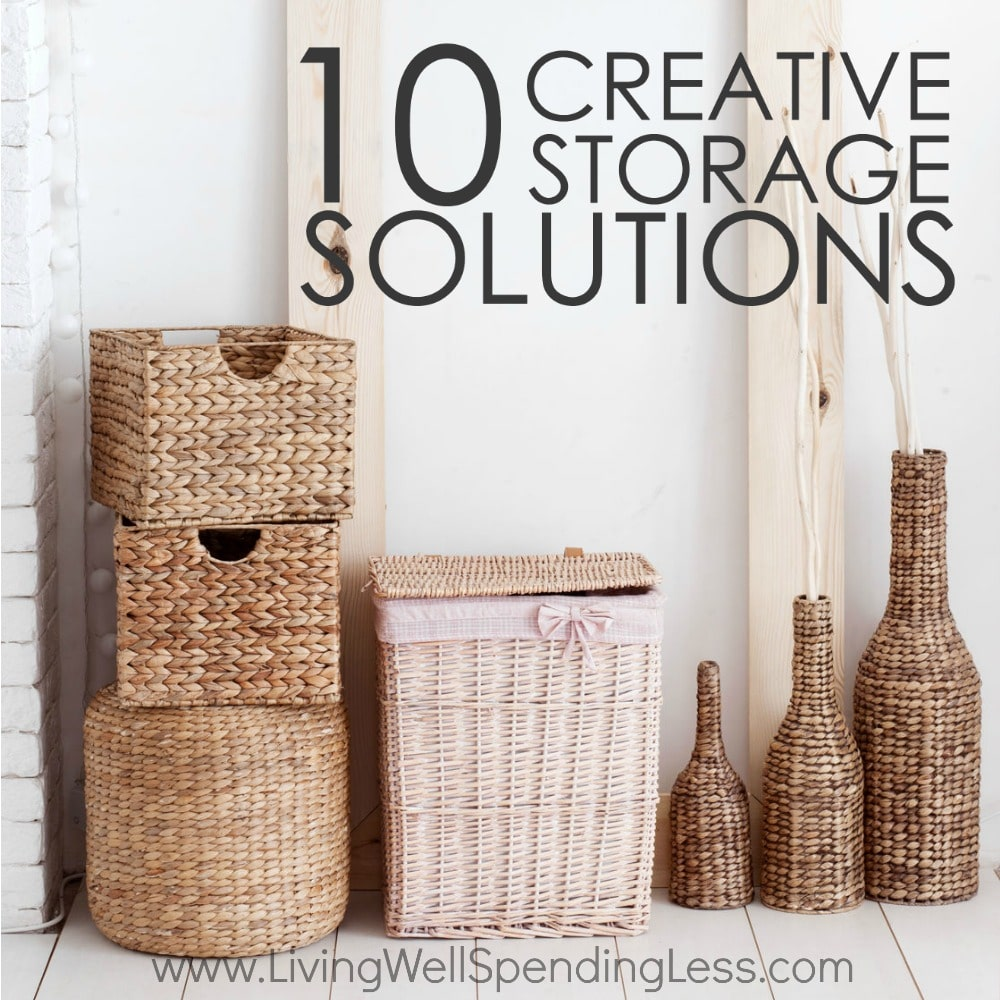 10 Creative Examples For Dividing Small Spaces: Creative Storage Solutions