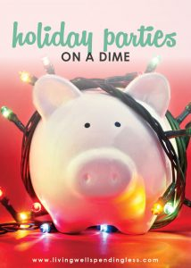 Ways to Save on Holiday Parties | Budgeting | Holiday Savings | Holidays & Special Occasions | Money Saving Tips | Party Planning