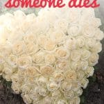 When someone dies there are almost always logistical issues that must be addressed, whether we want to or not. Here are 5 practical steps to take to deal with the stuff they've left behind. Dealing with the death of a loved one can be painful and awkward, especially when that person has left behind a lifetime of stuff to sort through. In a time of grief, it's not always easy to figure out what steps to take next, but the reality is that there are almost always practical and logistical issues that must be addressed, whether we want to or not. If you've recently lost someone you love (or know someone who has), don't miss these 5 practical steps to take after someone dies to deal with the stuff they've left behind.