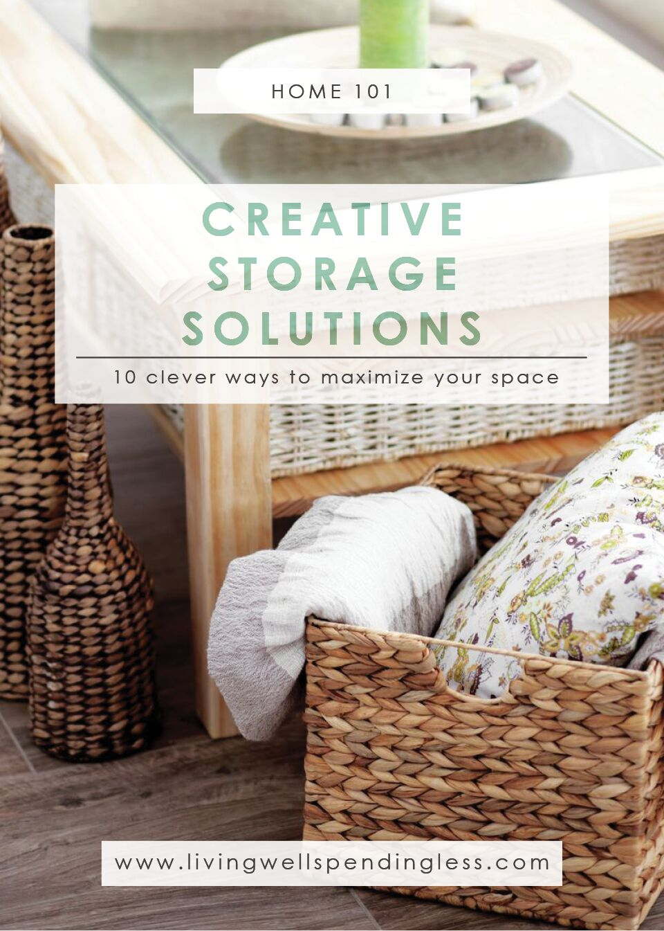 Creative Storage Solutions | Cleaning U0026 Organizing | Home Decluttering |  Clever Space Saving Solutions