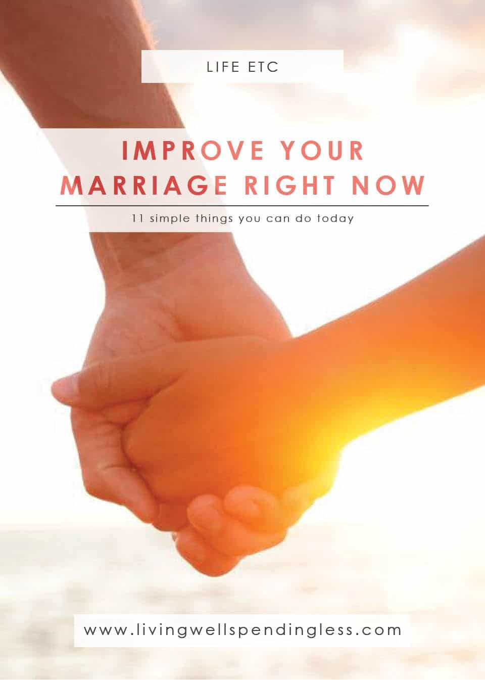 Improve Your Marriage | Family Life | | Make Your Marriage Happier | Ways to Improve Your Marriage