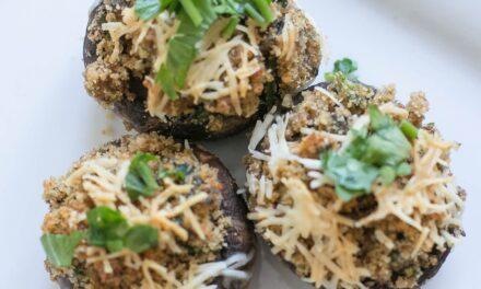 Simple Stuffed Mushrooms