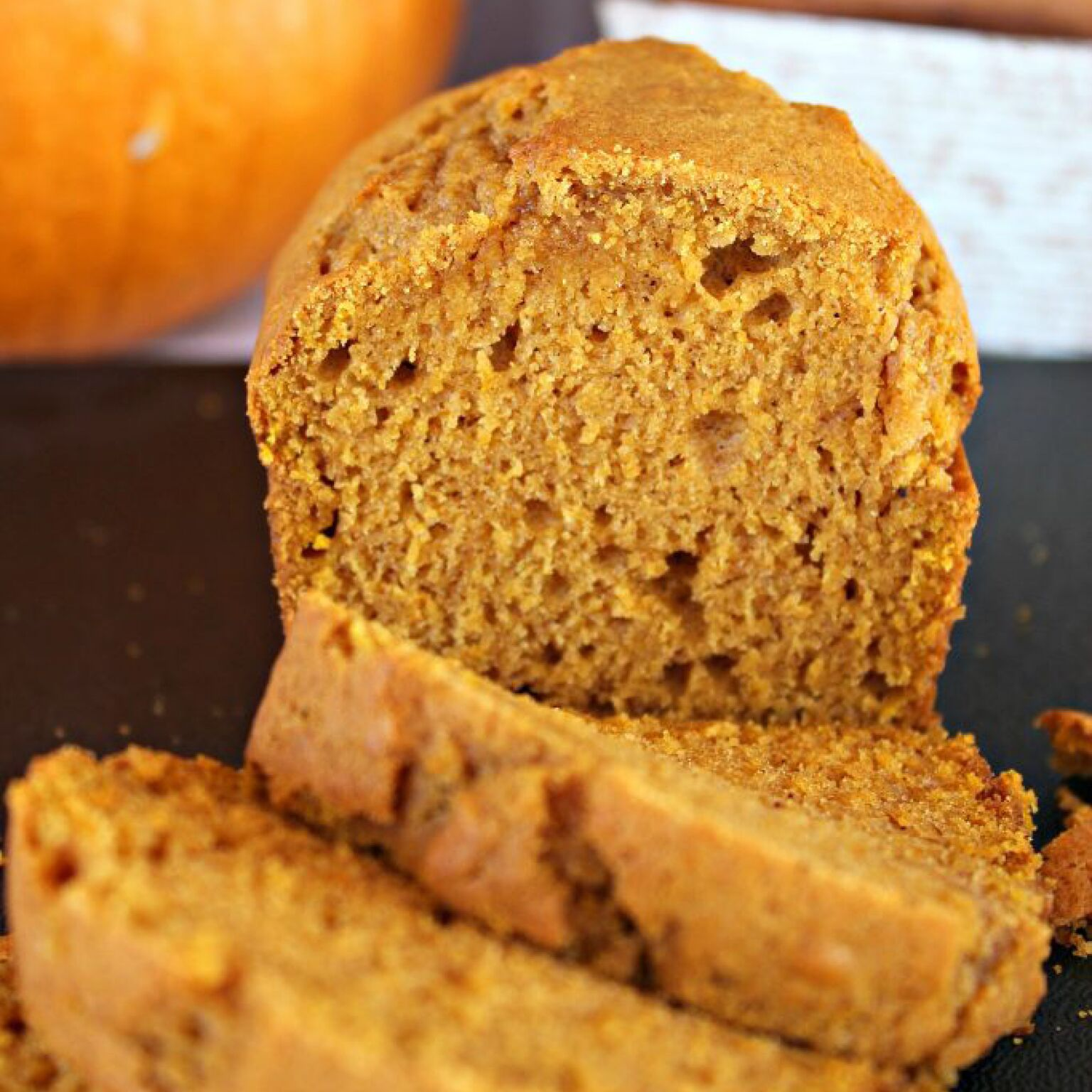 Want all the flavor of fall without too much effort?  This ridiculously delicious pumpkin bread is so quick and easy you'll be making it all month long!