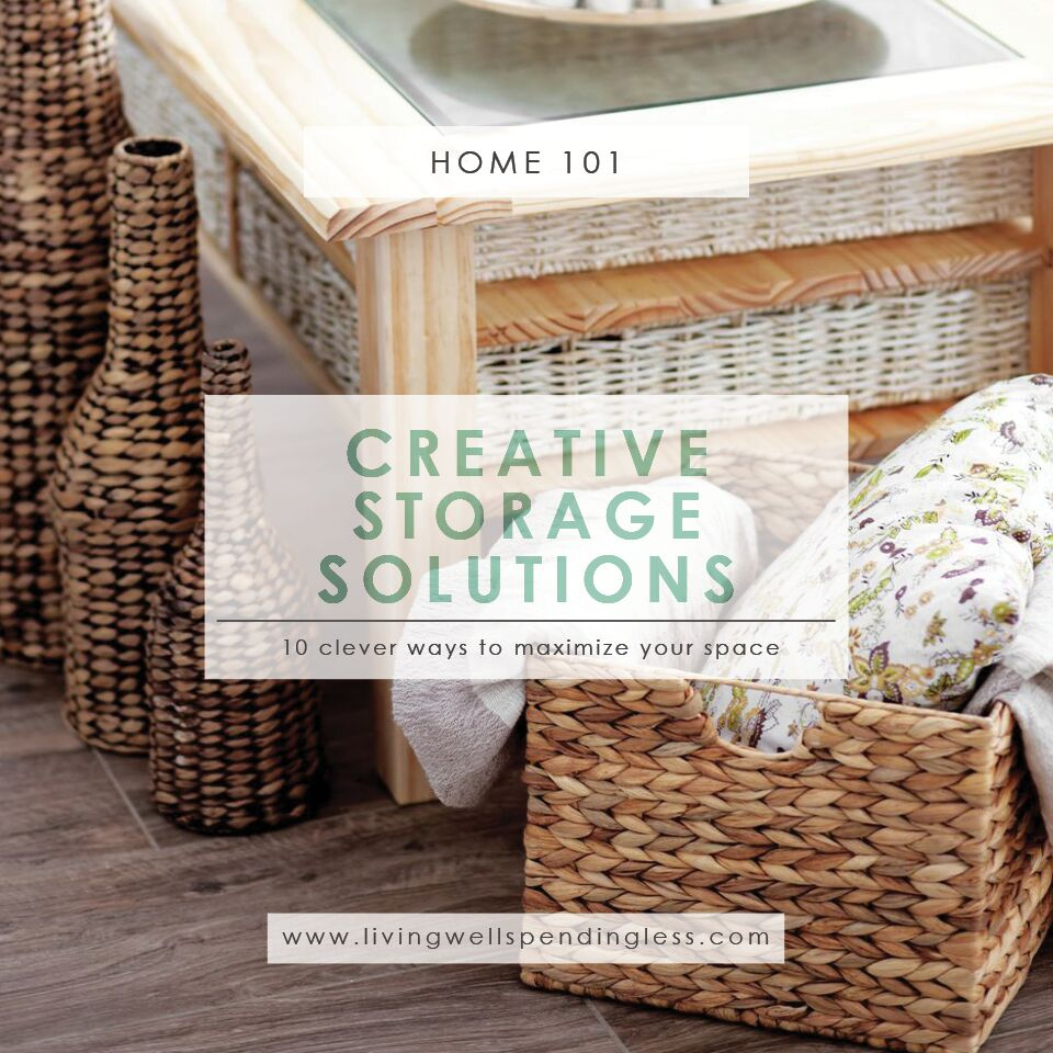 Creative Storage Solutions | Easy Storage Solutions | Storage Tips | Space Saver Storage Solutions