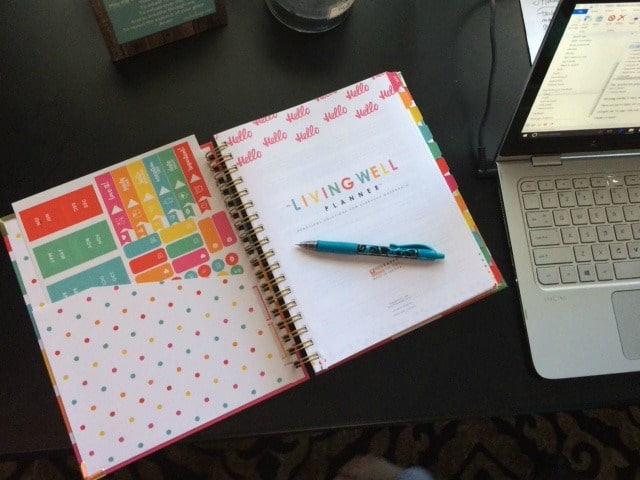 This Living Well Planner will help you organize your whole life!