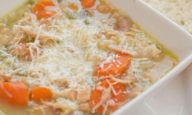 Turkey & Rice Soup