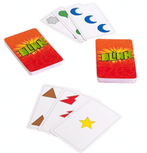 Blink is one of our favorite family card games for 7-10-year-olds.