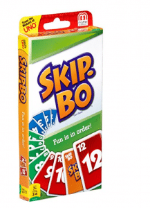 Another family favorite card game, the classic Skip-Bo is fun for everyone!