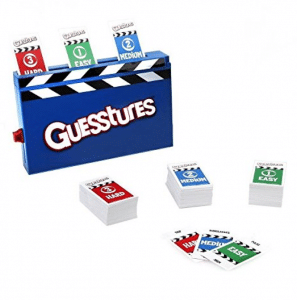 Guesstures is another family favorite for game night.