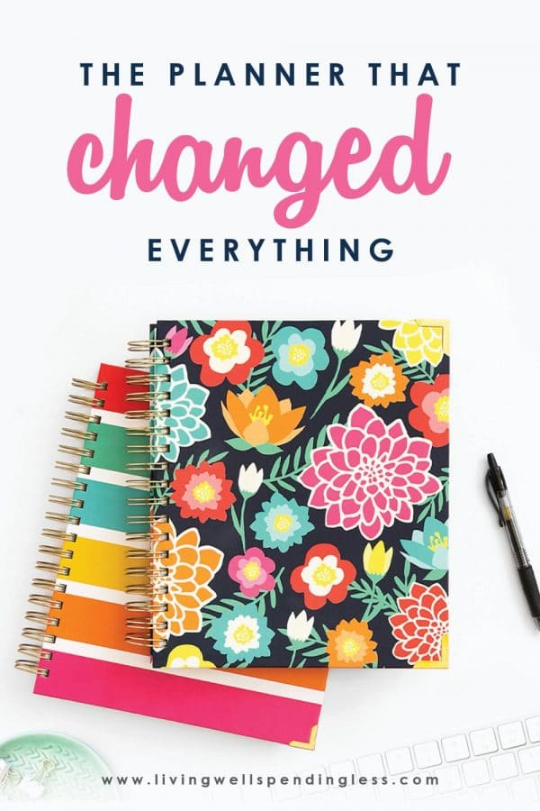 The Planner That Changed Everything!