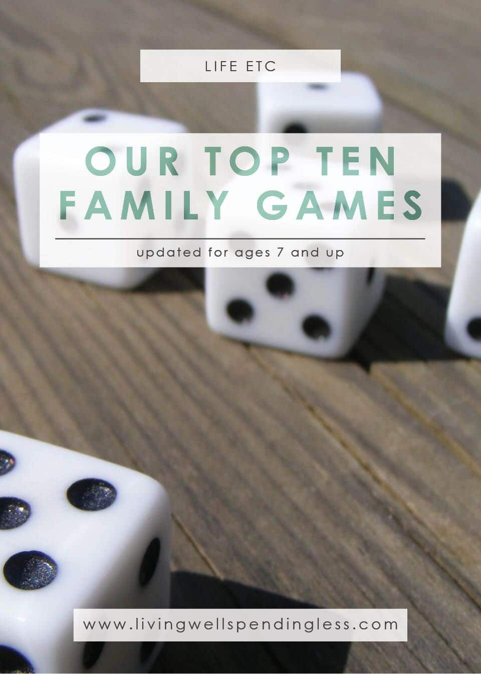 Our Top 10 Family Games for Kids Ages 7 & Up