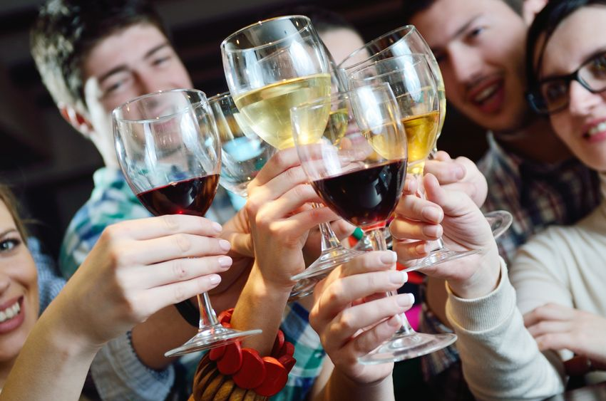 Raise a toast to friendship! Friends need to make socializing with each other a priority.