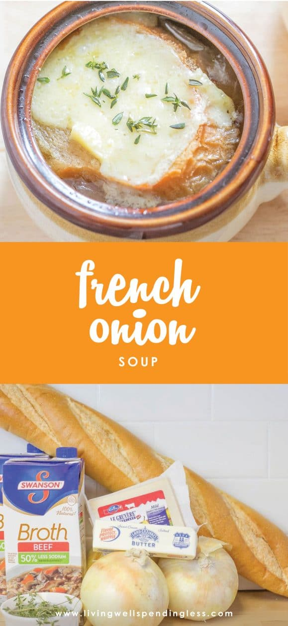 This ridiculously easy French Onion Soup comes together fast, then goes straight from the freezer to the slow cooker for an effortless meal that still feels extra special.