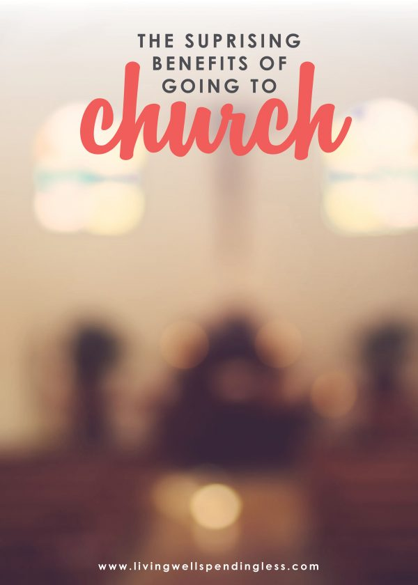 Think you don't have time for church? Don't miss these 10 surprising benefits of going to church and why you should make it a habit.