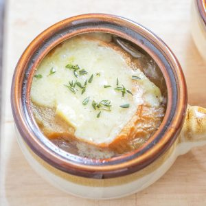 Easy French Onion Soup | Freezer-to-Crockpot Recipe | Soup Recipes | Food Made Simple