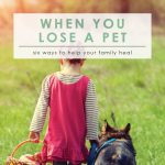 When You Lose a Pet | Dealing with the Death of a Pet | Pet Loss