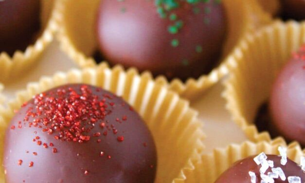 Hot Cocoa Truffles (Just 4 Easy Ingredients!)