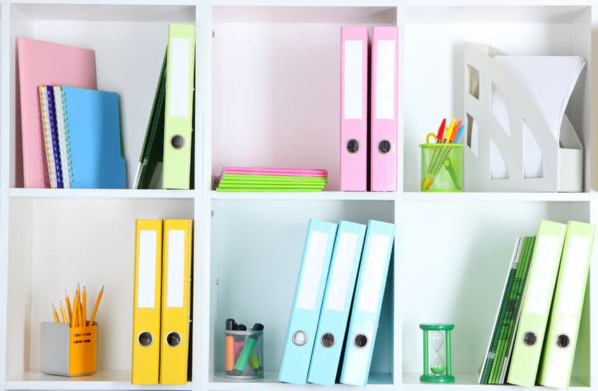Personalize your organizing style so it's something you love and are excited about