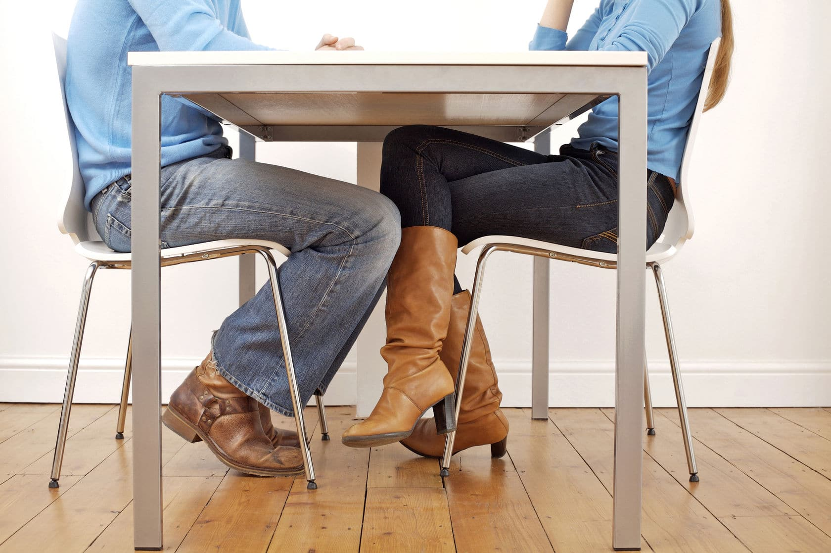 Sit down with your spouse and hash out your budget concerns together.