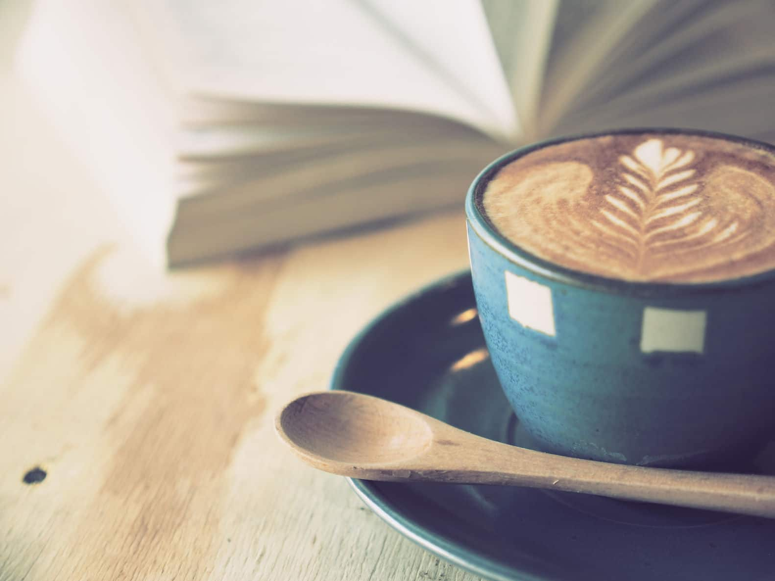 Books and coffee go together perfectly. Start a book club with friends for a fun get together